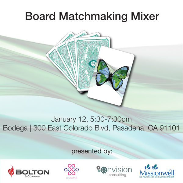 Envision Consulting Hosts Third Nonprofit Board Matchmaking Mixer