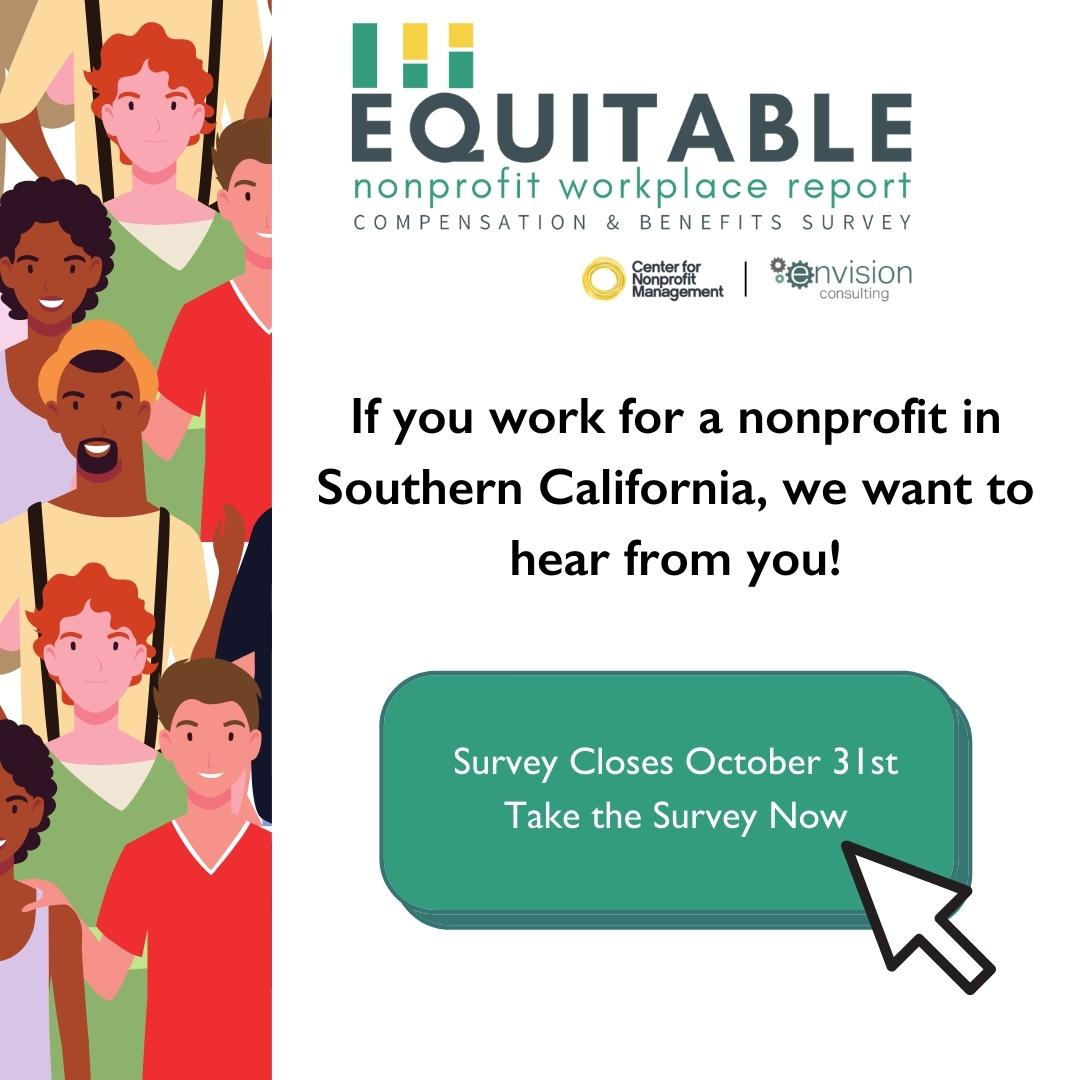 Equitable Nonprofit Workplace Report survey button