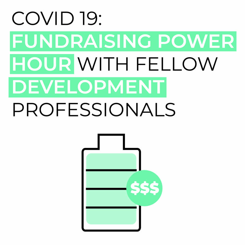 Fundraising Power Hour with fellow Development Professionals