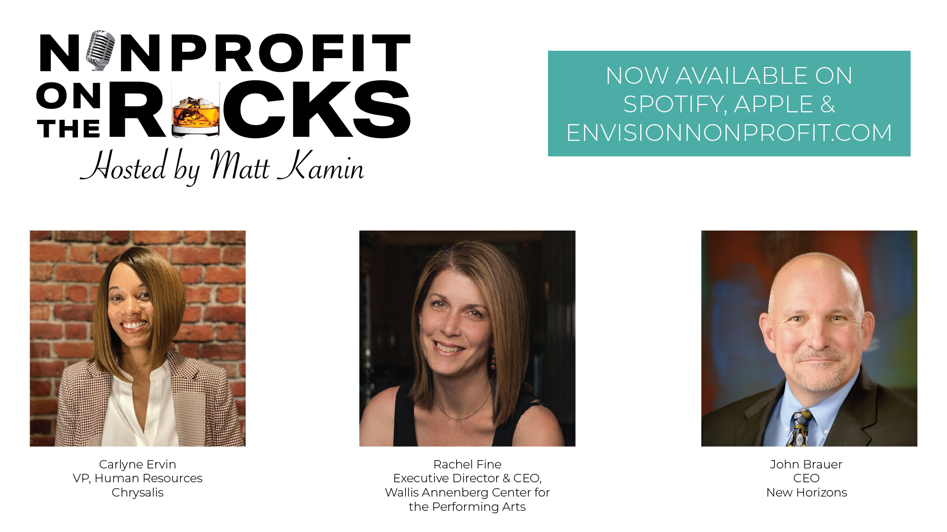 Nonprofit On The Rocks Podcast with Matt Kamin, Envision Consulting
