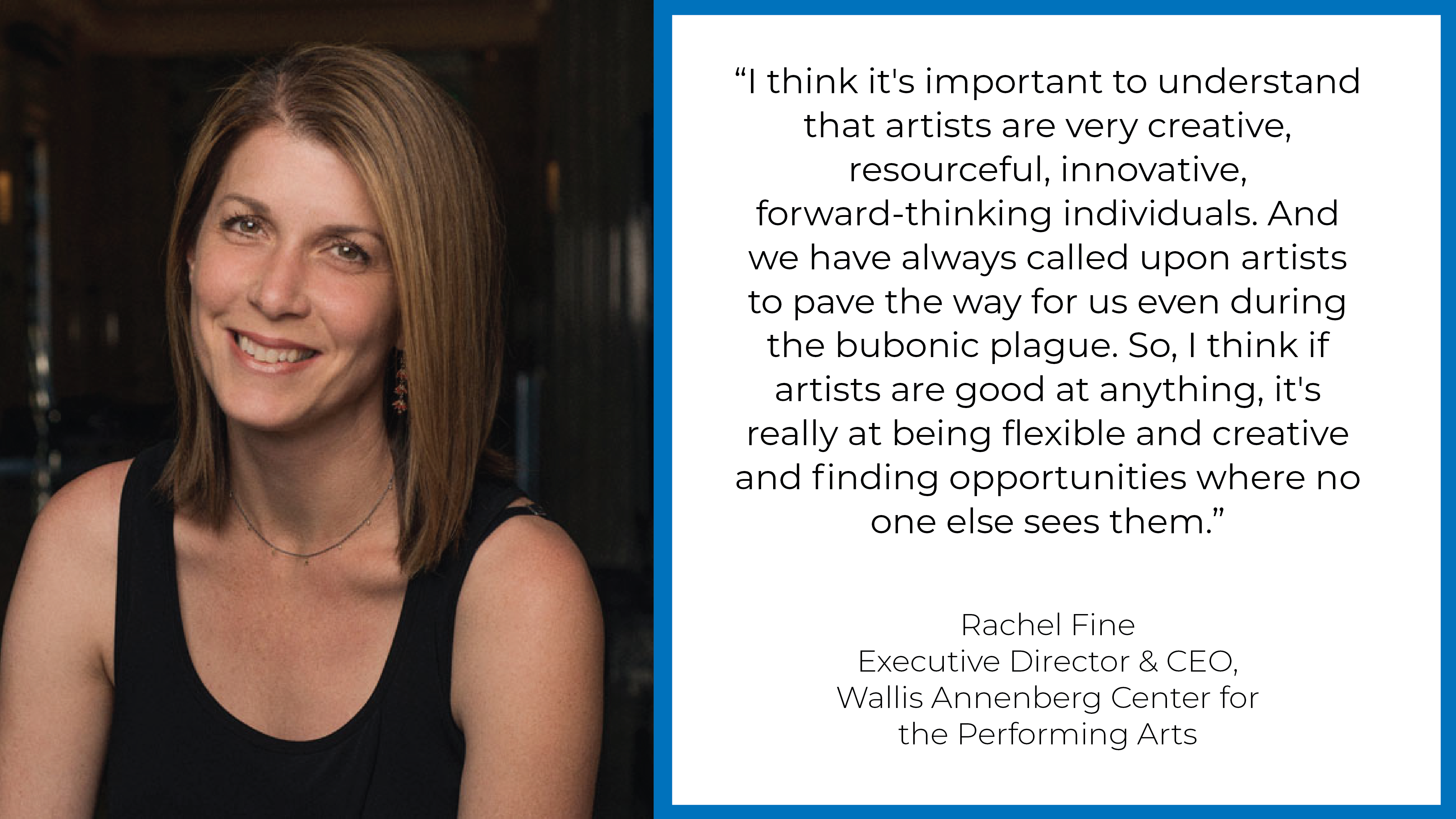 Rachel Fine - The Wallis Theater